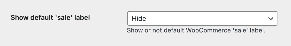 Option to hide all default sale badges